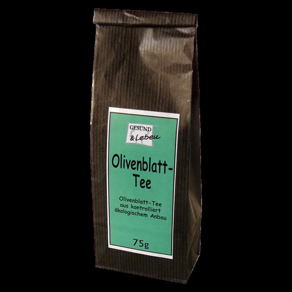 Gesund & Leben Bio Olivenblatt Tee