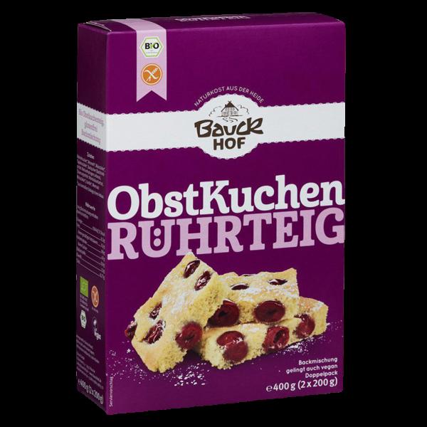Bauckhof  Bio Backmischung Obstkuchen Rührteig