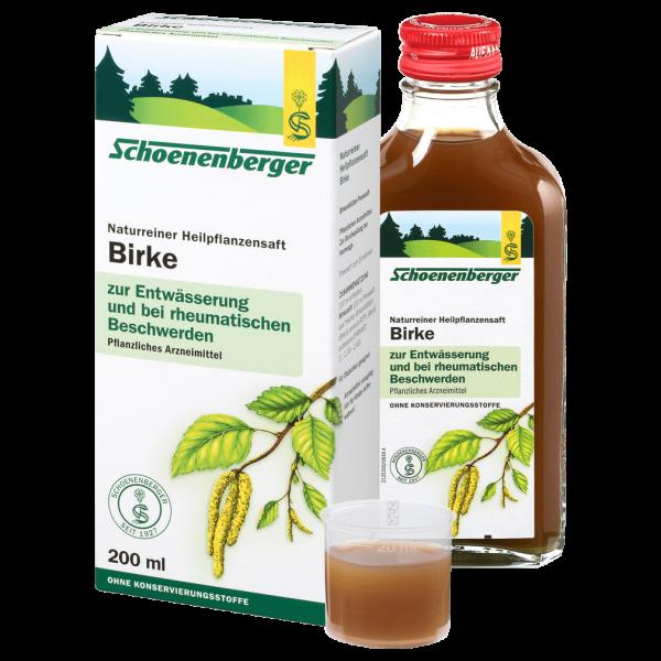 Schoenenberger Birkenblätter Heilpflanzensaft