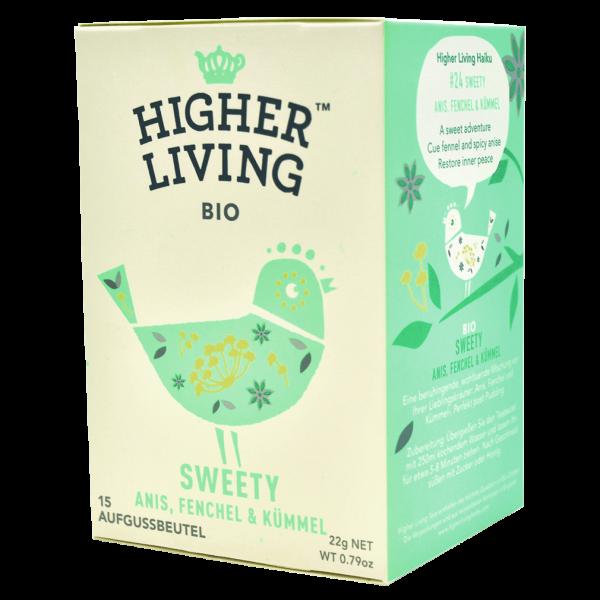 Higher Living Bio Sweety, 15Btl