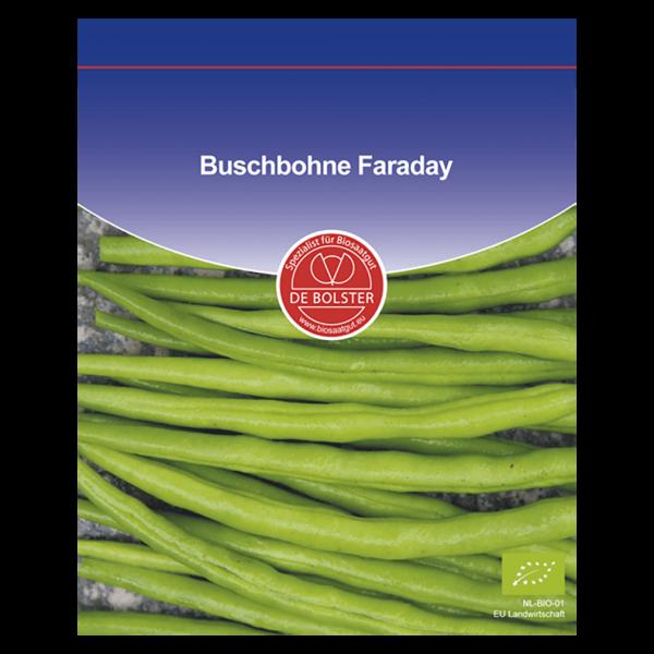 DE Bolster Bio Buschbohne, Faraday