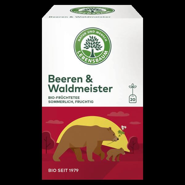 Lebensbaum Bio Beeren & Waldmeister Tee, 40g