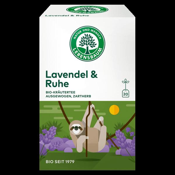 Lebensbaum Bio Lavendel & Ruhe