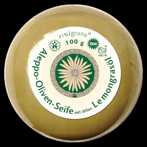 Finigrana Aleppo Olivenseife mit Lemongrasöl