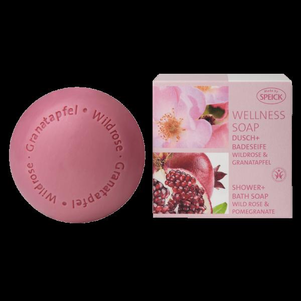 Speick Wellness Soap Wildrose & Granatapfel