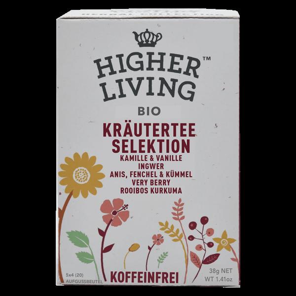 Higher Living Bio Kräutertee Selektion