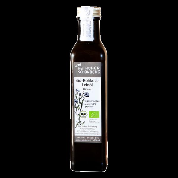 Bio Rohkost Leinöl, 250ml
