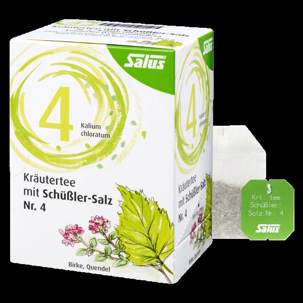 Salus Kräutertee mit Schüßler-Salz Nr. 4, 15 Beutel
