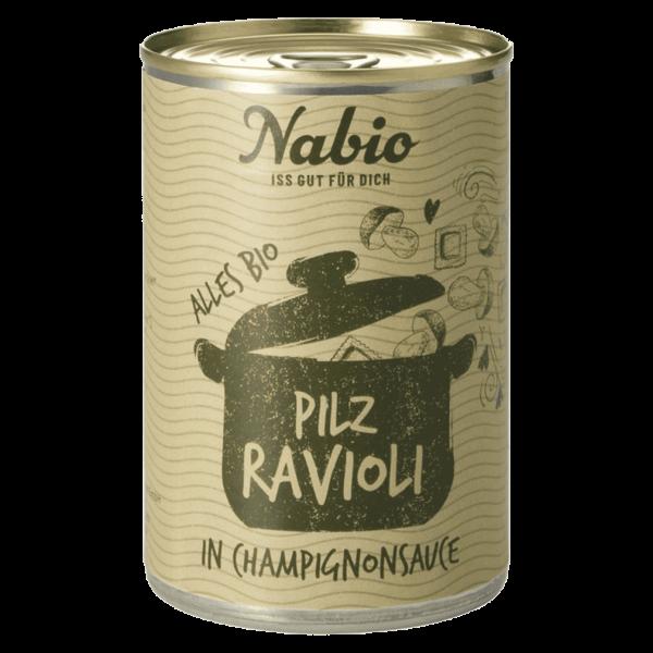 NAbio Bio Ravioli in Champignonsauce