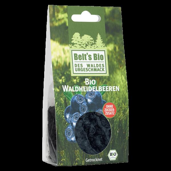 Bio Waldheidelbeeren, getrocknet