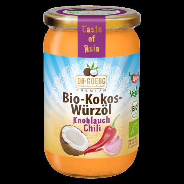 Dr. Goerg Bio Kokos-Würzöl Knoblauch Chili