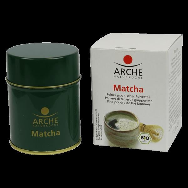 Arche Naturküche Bio Matcha feiner Pulvertee