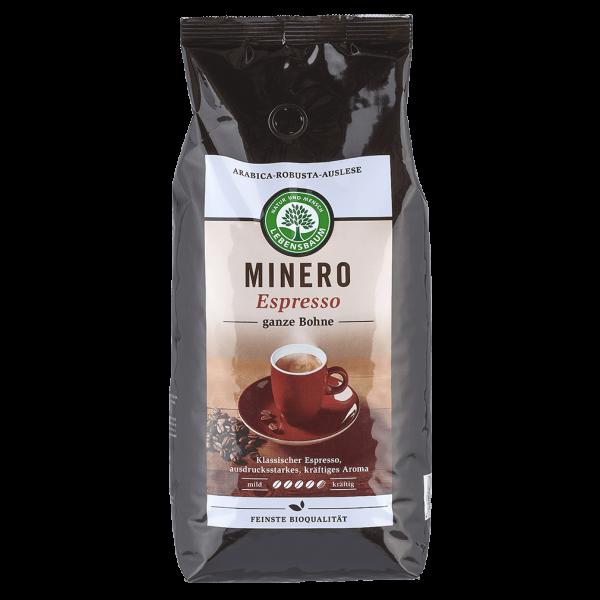 Lebensbaum Bio Minero Espresso ganze Bohne