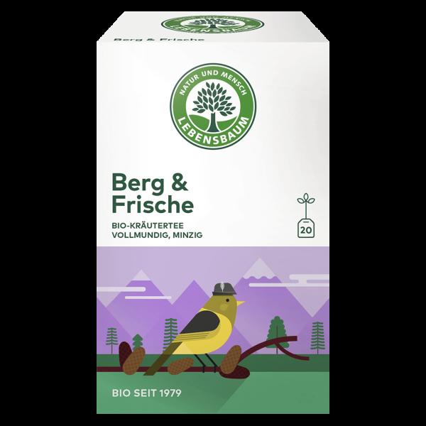 Lebensbaum Bio Berg & Frische Tee, 40g