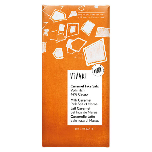Vivani Bio Caramel Inka Salz mit Kokosblütenzucker