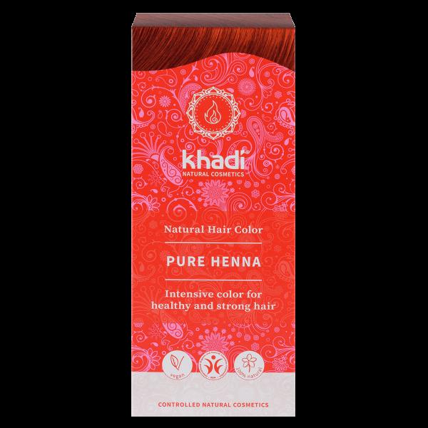 Khadi Pflanzenhaarfarbe Rot - Reines Henna