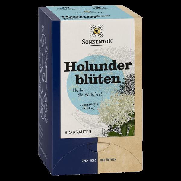 Sonnentor Holunderblüten Tee, 18 Beutel