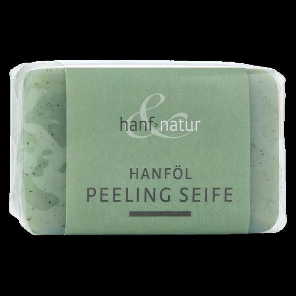 hanf natur Hanföl Peeling Seife, 100g