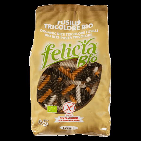 Felicia Bio Reis Fusilli Tricolore