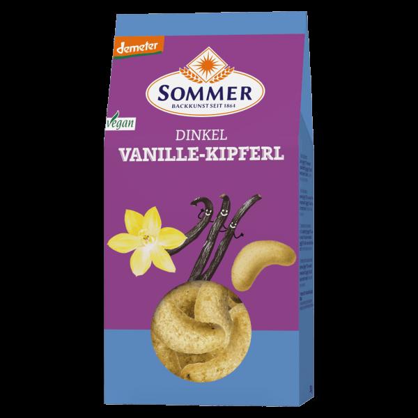 Sommer Bio Dinkel Vanille Kipferl
