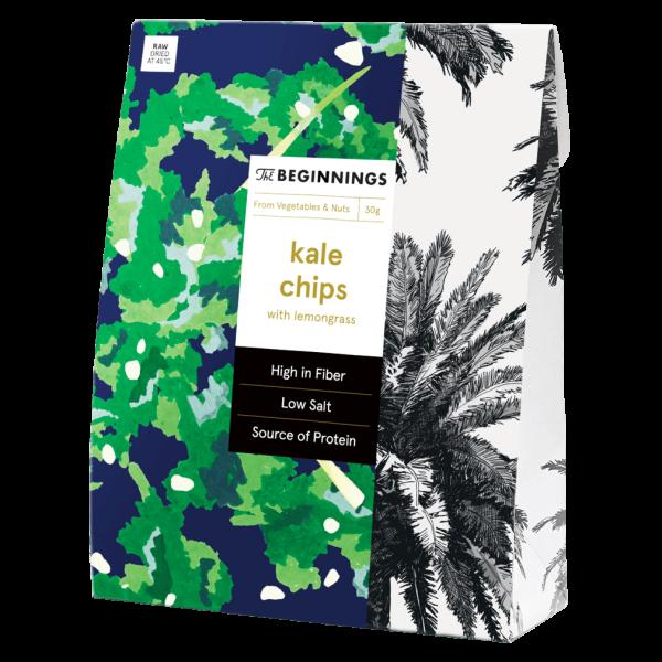 Kale Chips Grünkohl-Zitronengras Chips