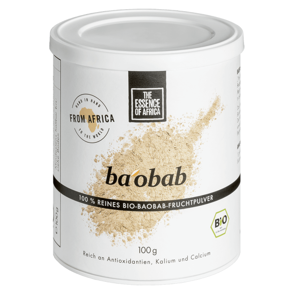 The Essence of Africa Bio Baobab Fruchtpulver