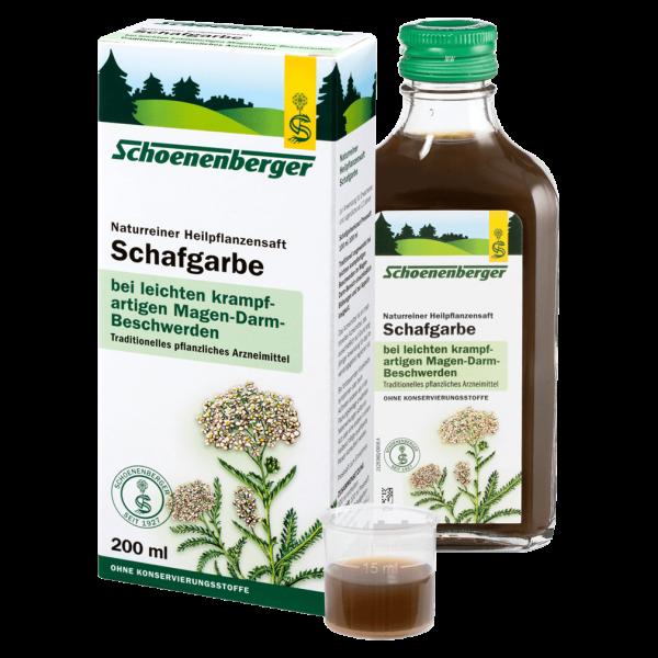 Schoenenberger Bio Schafgarbe Heilpflanzensaft