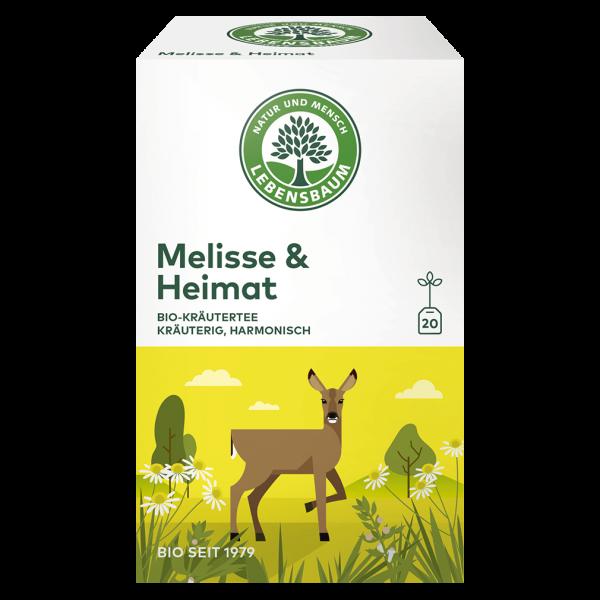 Lebensbaum Bio Melisse & Heimat Tee, 40g