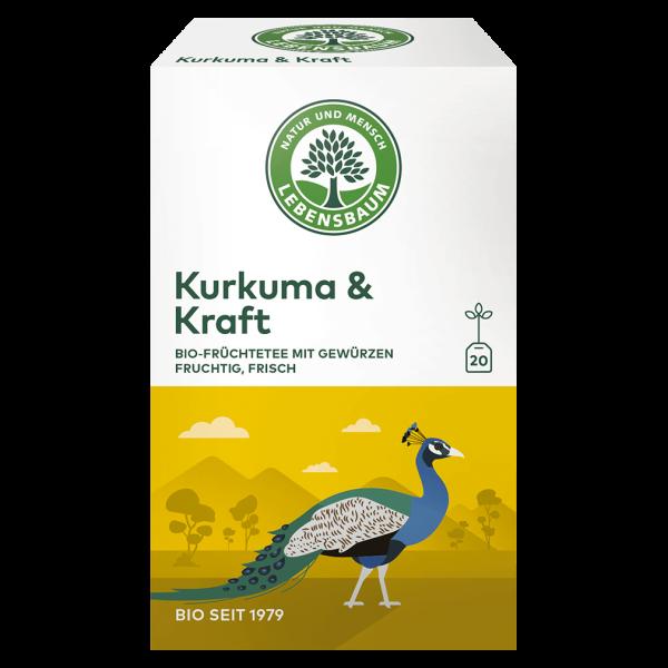 Lebensbaum Bio Kurkuma & Kraft Tee, 40g