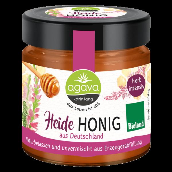 agava Bio Heidehonig cremig