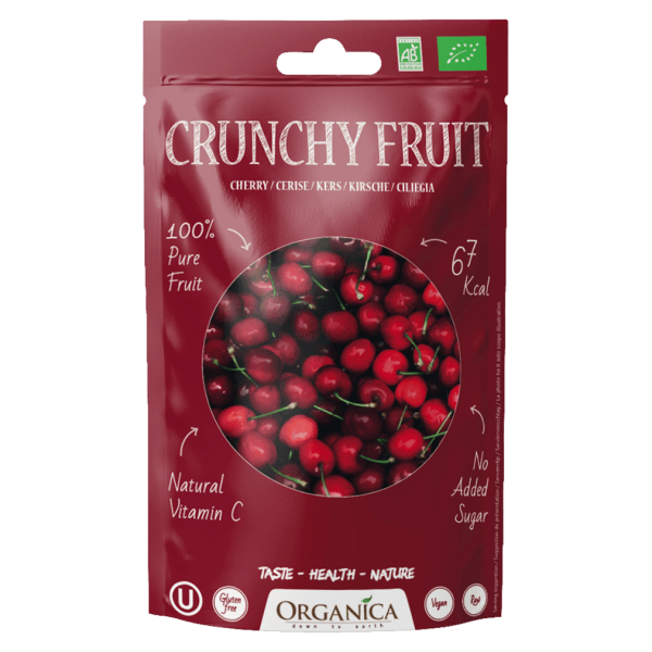 Organica Bio Crunchy Fruit, Kirschen