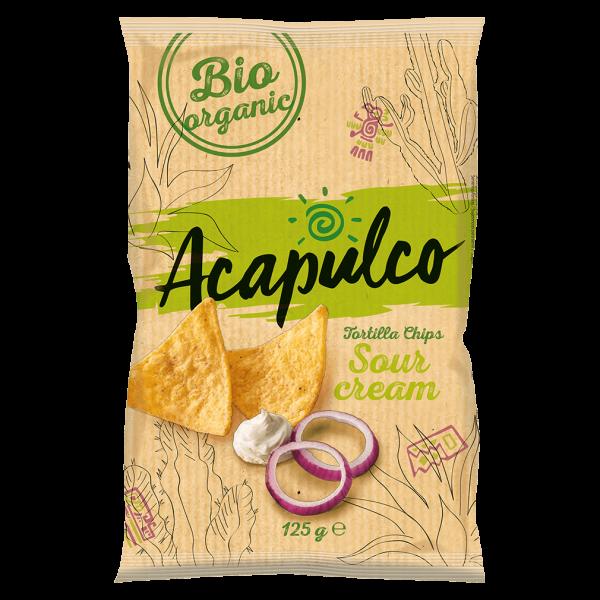 Acapulco Bio Tortilla Chips Sour Cream & Onion