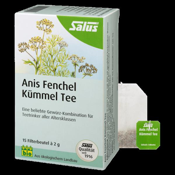 Salus Bio Anis Fenchel Kümmel Tee