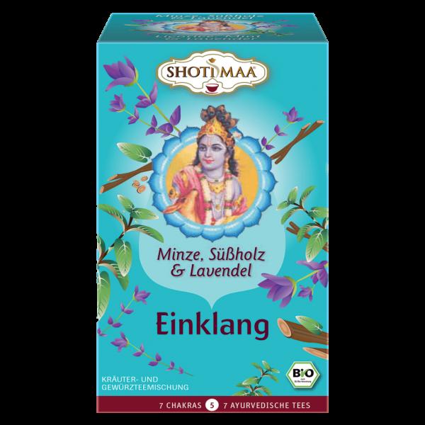 Shotimaa Bio Einklang Minze, Süßholz & Lavendel Tee