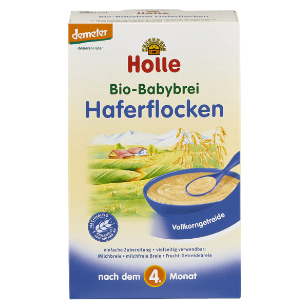 Holle Bio-Babybrei Haferflocken, 250g