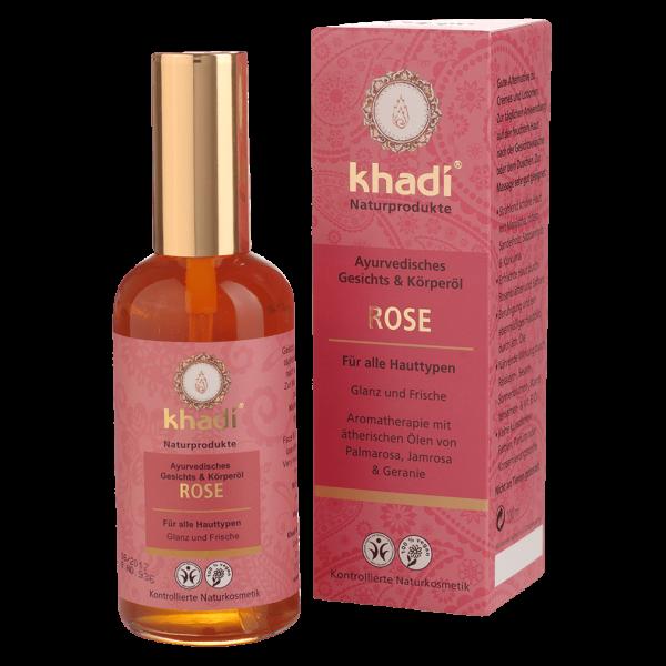 Khadi Rose Gesichts- und Körperöl