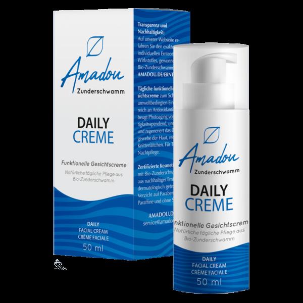 Amadou Zunderschwamm Daily Creme 50ml