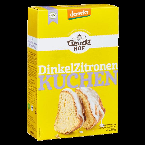Bauckhof  Dinkel-Zitronenkuchen