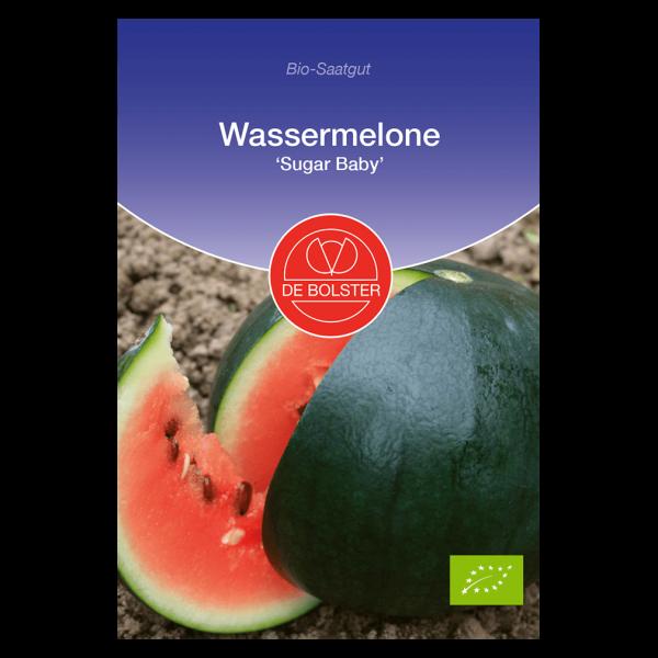 DE Bolster Bio Wassermelone, Sugar Baby