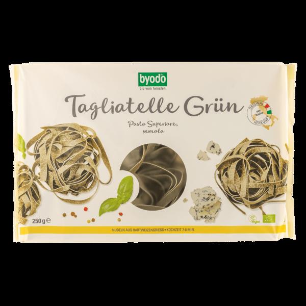 byodo Bio Tagliatelle grün semola 250g
