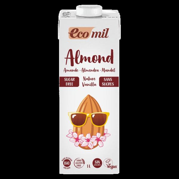 EcoMil Bio Mandel Drink Nature Vanille