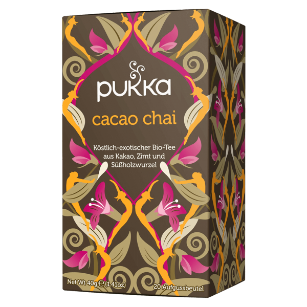 Pukka Bio Cacao Chai Tee