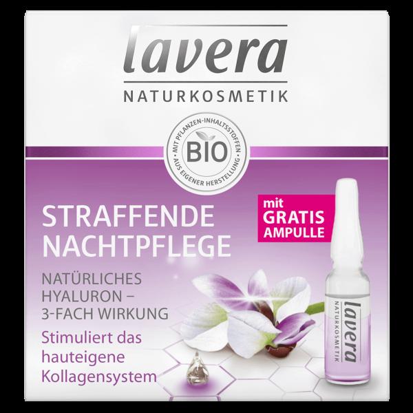 Lavera Naturkosmetik Nachtpflege Karanja Ampullenkur
