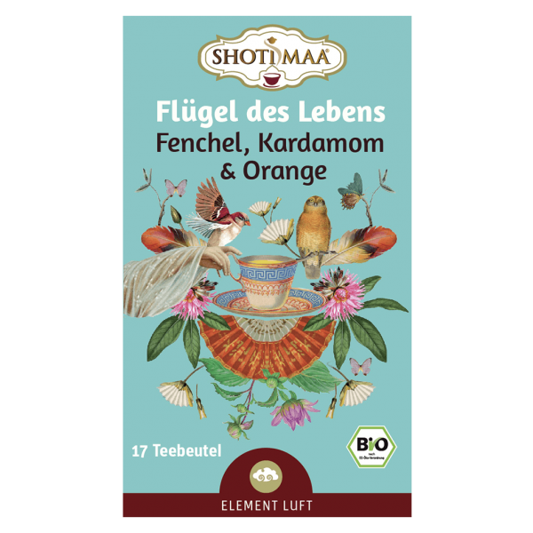 Shotimaa Bio Flügel des Lebens Tee