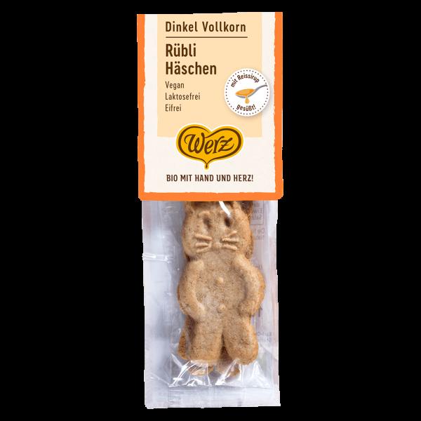 Werz Bio Dinkel Vollkorn Rübli Häschen