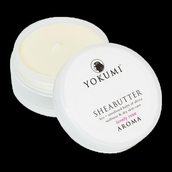 YOKUMI Bio Sheabutter Aroma Lovely Rose