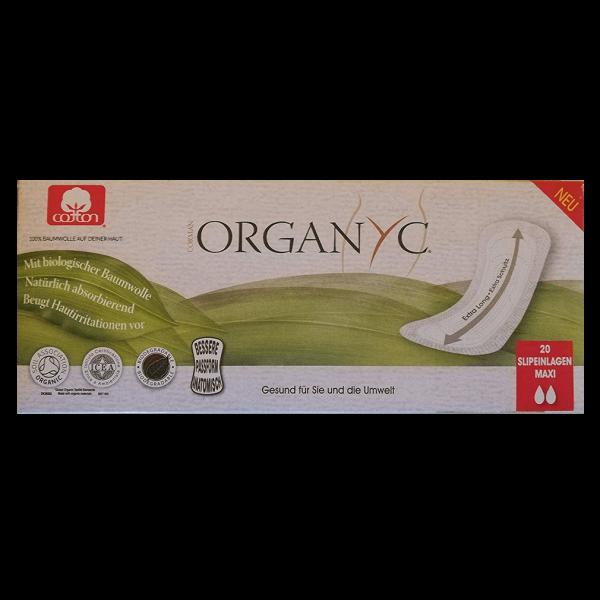 Organyc Slipeinlagen Maxi