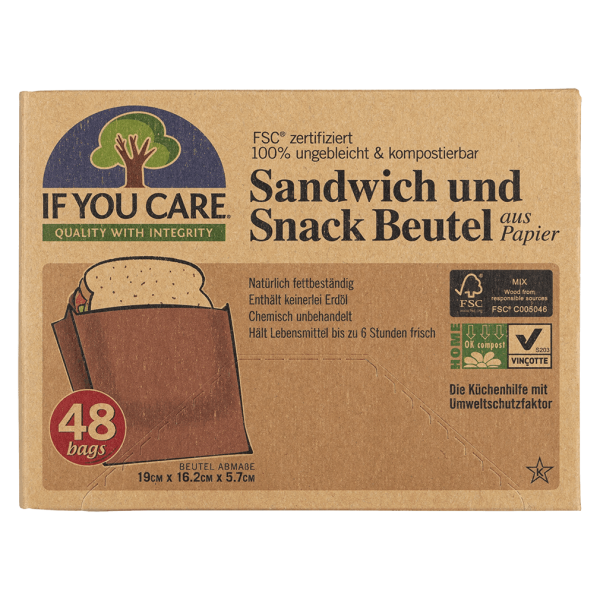 If You Care Sandwich & Snack Beutel
