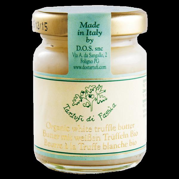 Tartufi di Fassia Bio Butter mit weißen Trüffeln