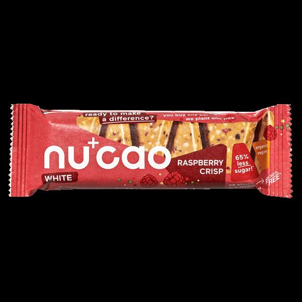 Nucao Bio White Choc Raspberry Crisp